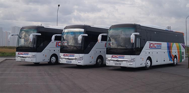 Новые автобусы СКСавто